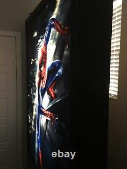 3D Amazing Spiderman Movie Theater Light Up Standee Display Poster 7.5' Tall