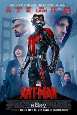 ANT-MAN ORIGINAL MOVIE POSTER DS 2 Sided Theatrical Final Version 27x40
