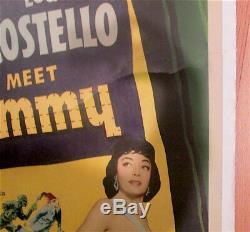Abbott And Costello Meet The Mummy / 1955 / Universal Pictures / 40x60 Poster