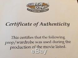 Authentic Screen Used Grays / Greys Almanac Cover Back to the Future with COA