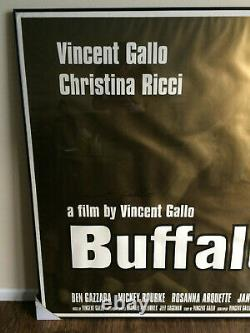 Buffalo 66 Large Framed Poster / Signed by Vincent Gallo
