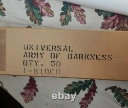 C9 NR MINT ROLLED! ORIGINAL ARMY OF DARKNESS 1992 MOVIE Poster 27X40 CAMPBELL