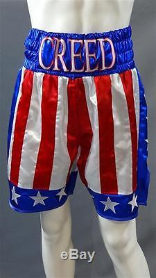 CREED ADONIS MICHAEL B JORDAN SCREEN WORN CREED BOXING OUTFIT CH 64 SC 174-203