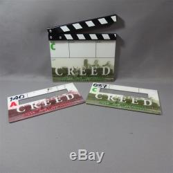 CREED PRODUCTION USED FILM CLAPPER BOARD SET