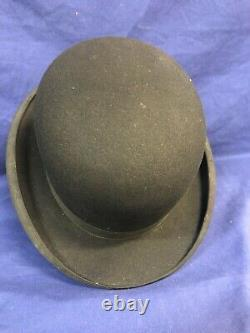 Charlie Chaplin Autographed Carlson Bowler Hat- One Of A Kind