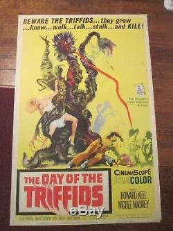 Day Of The Triffids -Original 40 x 60 Movie Poster