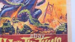 Godzilla vs. The Thing Original Movie Poster 1964 American Int'l Pictures, NSS