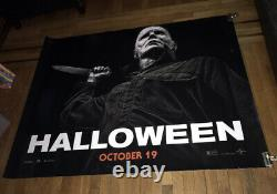 HALLOWEEN 2018 5FT SUBWAY MOVIE POSTER #2 2018 Michael Myers
