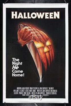 HALLOWEEN CineMasterpieces ORIGINAL ROLLED NEVER FOLDED MOVIE POSTER 1978