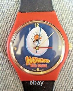 HOWARD THE DUCK Vintage movie promotional T-shirt (XL) and WATCH from 1986