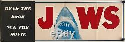 Jaws Original 1975 Book & Movie Poster/Flyer ULTRA RARE