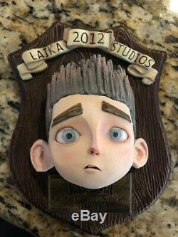 Laika, Norman 3d Printed Screen Used Face from Paranorman