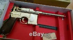 Mgc Rmi Mauser Model M1916 C96 Base Han Solo Blaster Dl-44 Pistol Broom Handle