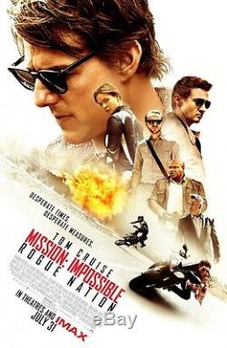 Mission Impossible Rogue Nation original DS movie poster D/S 27x40 FINAL