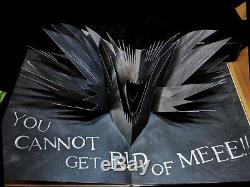 Mister Babadook Pop-Up Book 1st Edition Signed by Jennifer Kent with original box