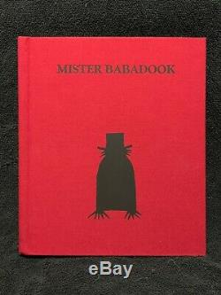 Mister Mr The BABADOOK Pop-Up MINT Book with Original Box Beautiful ARTWORK