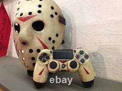 Original Friday the 13th Jason Voorhees Sony PlayStation DualShock 4 Controller