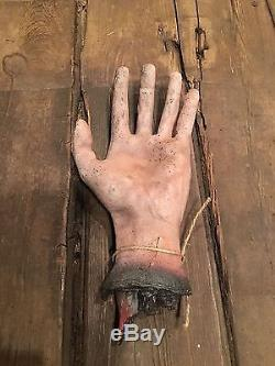 Original Prop Severed Hand From Rob Zombie's HOUSE OF 1000 CORPSES