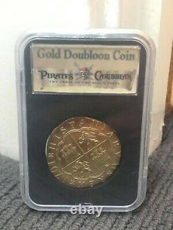 Pirates of the Caribbean Screenused Gold Metal Coin