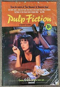 Pulp Fiction 1994 One Sheet Lucky Strike Withdrawn Advance Original Movie Poster