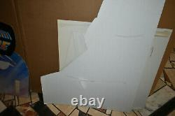 RARE BACK TO THE FUTURE original FIRST MOVIE 1985 store display video cutout