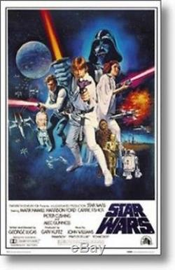 STAR WARS A NEW HOPE =POSTER= Original Score vader NEW