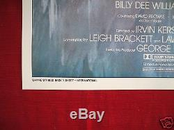 STAR WARS THE EMPIRE STRIKES BACK 1980 ORIGINAL MOVIE POSTER GWTW STYLE A NM-M