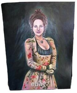 Scary Movie 2 Original Screen Used Master Kanes Wife Painting Movie Prop With COA