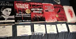 Scream 4 screen used Out Of Darkness and Set Of 5 Stab Books COAs movie props