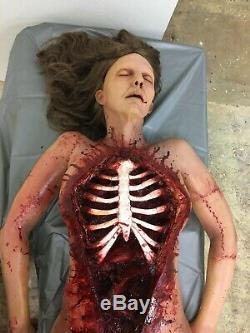 Screen used CORPSE with EXPOSED RIBCAGE. Undeniably epic and awesome. Gore/blood