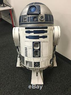 Star Wars R2D2 Life Size Prop From Noted Collector
