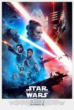 Star Wars The Rise of Skywalker Original Double Sided Movie Poster FINAL 27x40