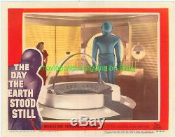 THE DAY THE EARTH STOOD STILL LOBBY CARD size 11x14 MOVIE POSTER 1951 Card #2