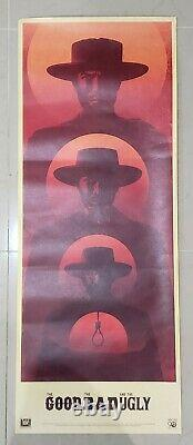 THE GOOD THE BAD AND THE UGLY (OS 14 X 36) by LA BOCA Original Rolled RARE