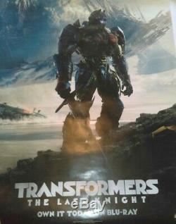 TRANSFORMERS The Last Knight SCREEN USED PROP Sword + COA + Movie Poster