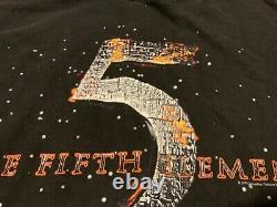 The FIFTH ELEMENT rare vintage movie official promotional t-shirt Adult XL 1997