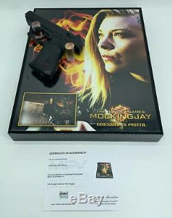The Hunger Games Cressida (Natalie Dormer) Stunt Pistol Screen Used Prop With COA