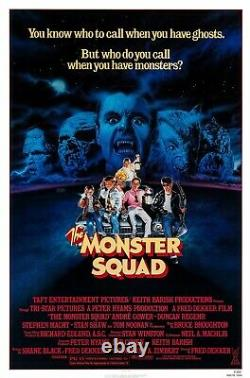 The Monster Squad (1987) Original Movie Poster Rolled Artwork By Craig