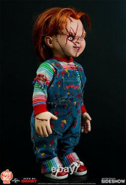 Trick or TreaT Studios Chucky, Tiffany And Glen Doll Bundle Childs Play in stock