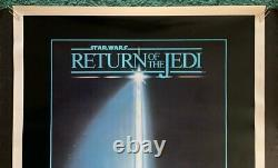 Vintage 1983 STAR WARS RETURN OF THE JEDI GORE GRAPHICS One Sheet Movie Poster