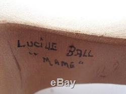 Vintage Original Lucille Ball High Heel Di Fabrizo Shoes from Mame