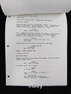 WALT DISNEY Pictures 1994 Movie THE LION KING Working Draft WDW Producer Script