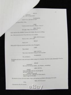 WALT DISNEY Pictures Movie BEAUTY AND THE BEAST December 1990 Final Draft Script