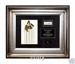 WIZARD OF OZ Signed SCARECROW Costume MOVIE PROP STRAW from actual memorabilia