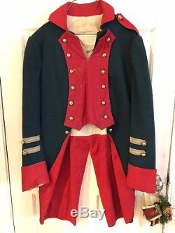 Wonderful Revolutionary War Coat Used As Movie Prop For Paramount Pictures